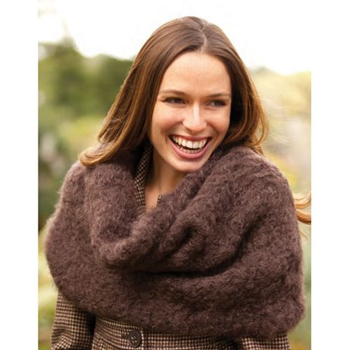 Free Vogue Knitting Pattern: Mohair Cowl | tricoter | Pinterest