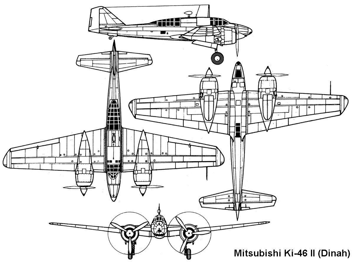 Mitsubishi Ki 46 Dinah