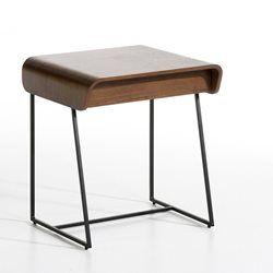 chevet 1 tiroir bardi design e gallina ampm table de chevet - Table De Chevet Tiroir