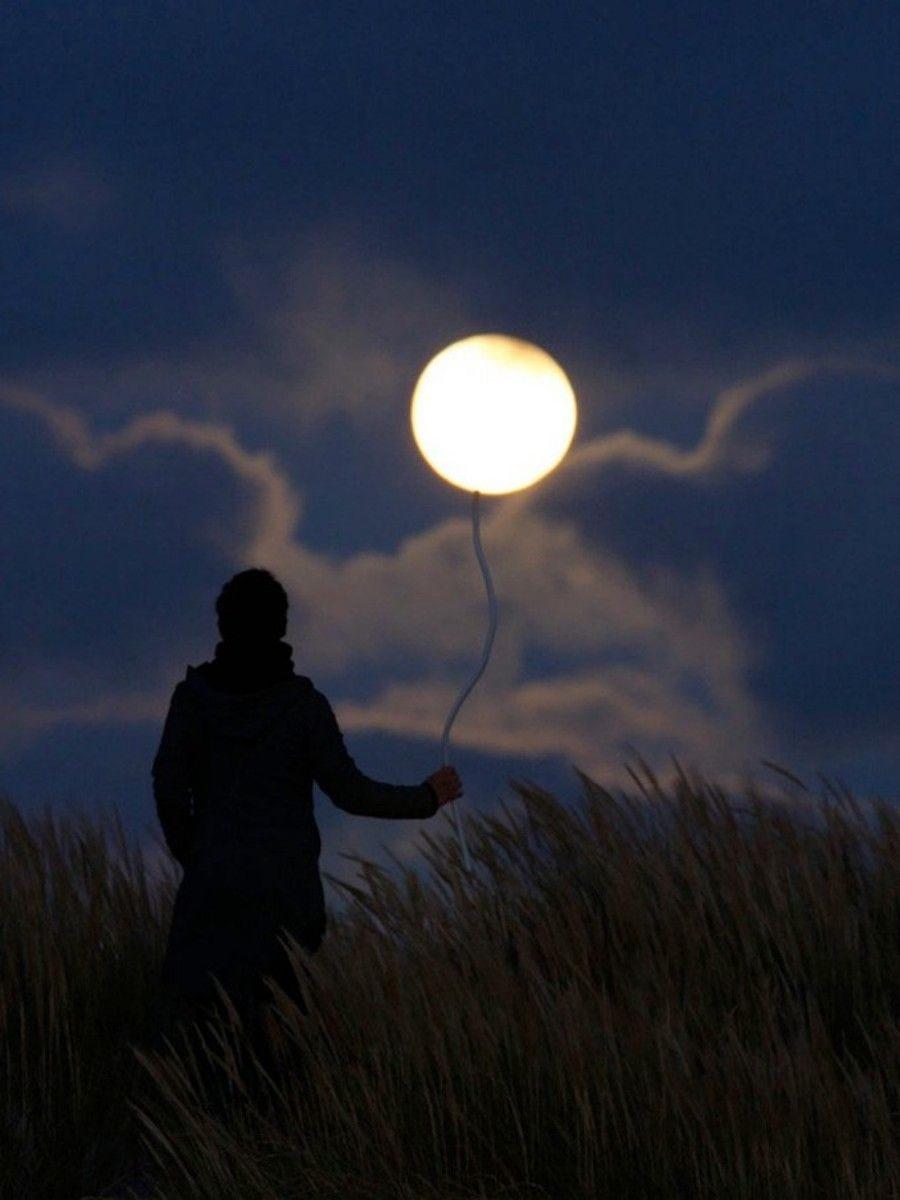 Brincando com a lua. - Brasilis Net