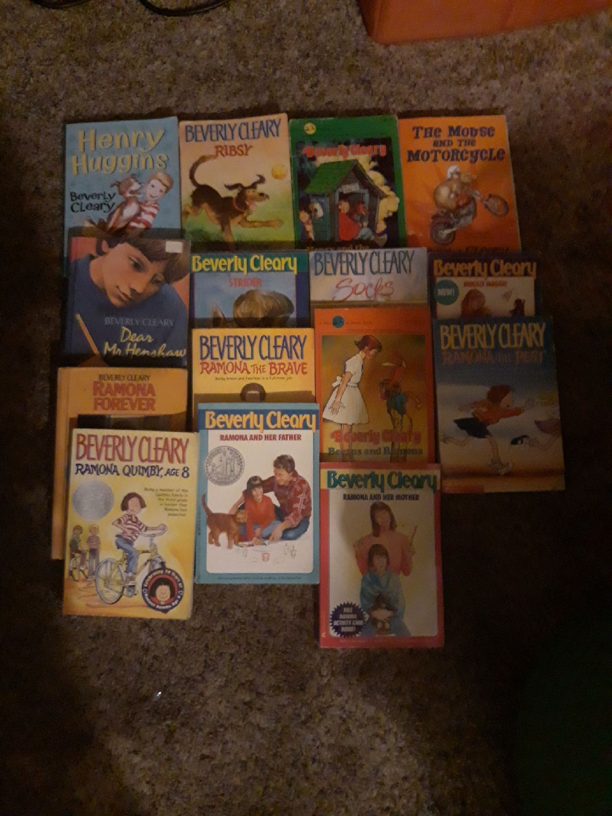 15 Beverly Cleary Books Ramon Quimby Age 8 Ramona And