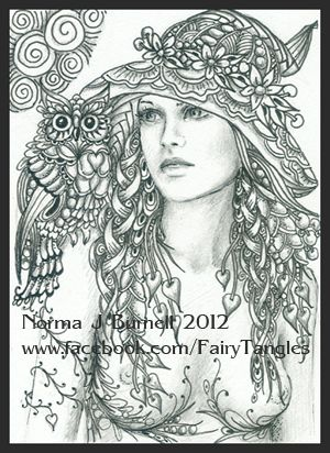 Fairy Tangles Season Of The Witch Journals Ideas