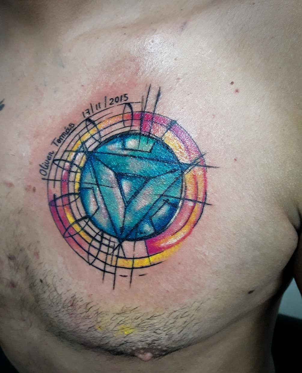 Love this design for Arc reactor tattoo #ironman # ...