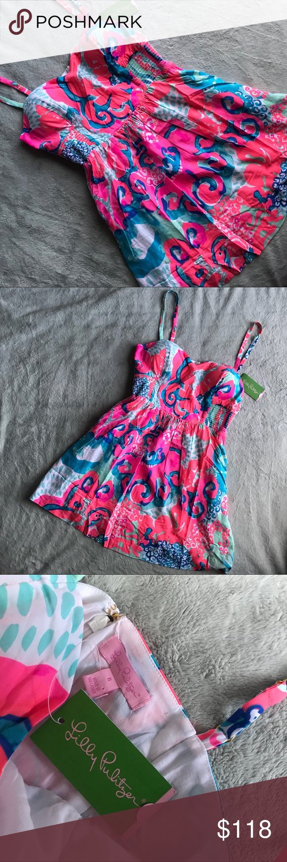 20ad7bf31c0a NWT Lilly Pulitzer Christine Dress I'm So Jelly Brand new, never worn.