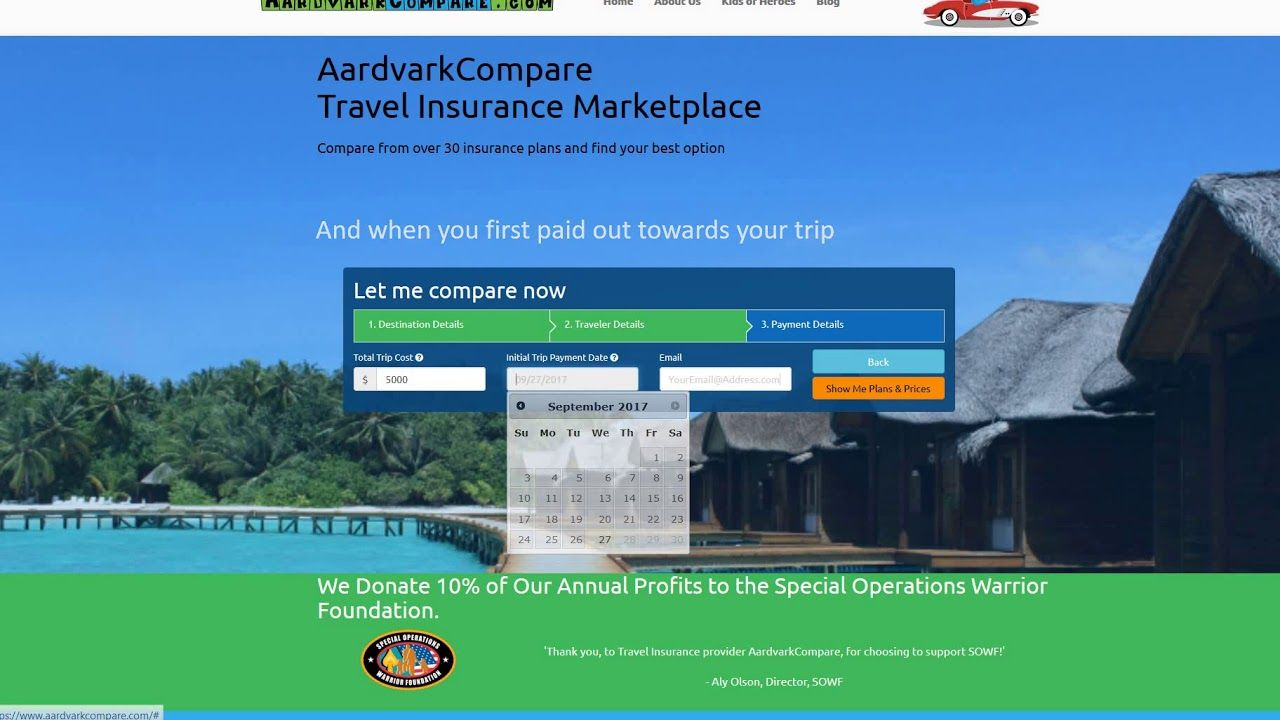 Cheapest travel insurances travel