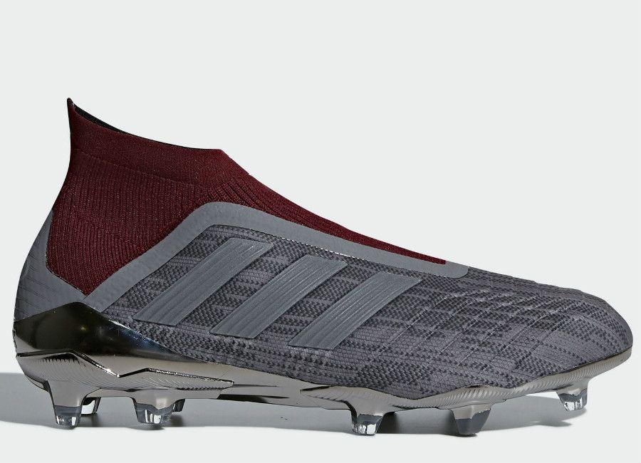 b335f7b0b  football  soccer  futbol  adidasfootball  footballboots Adidas Paul Pogba  Predator 18+ FG - Iron Metallic   Iron Metallic   Iron Metallic