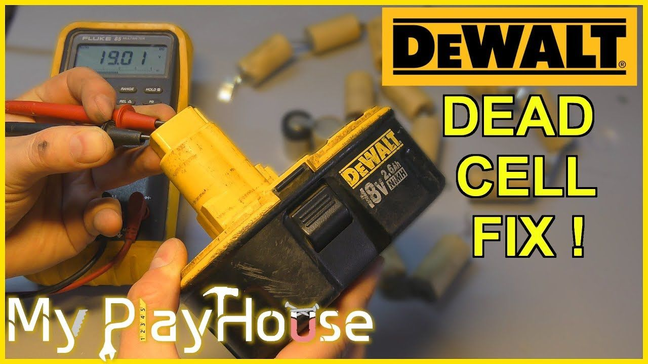 How to recondition a dewalt 18v battery in 2020 battery