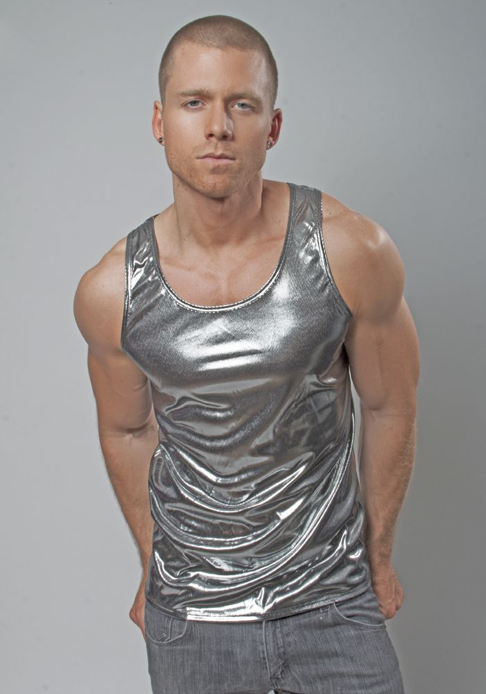 459858edb886c Want To Look Like a Tight   Toned—Fast  Try Our Metallic Tank Top ...