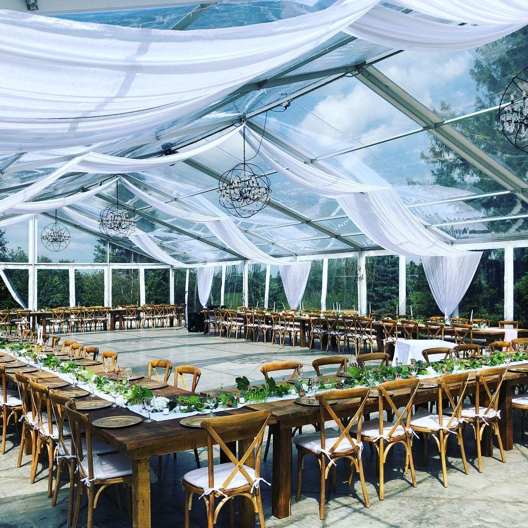 Central Alberta Red Deer Edmonton Ponoka Rimbey Elegant Wedding Reception Space Clear Ceiling Tent T Pond Wedding Edmonton Wedding Pond Wedding Ceremony