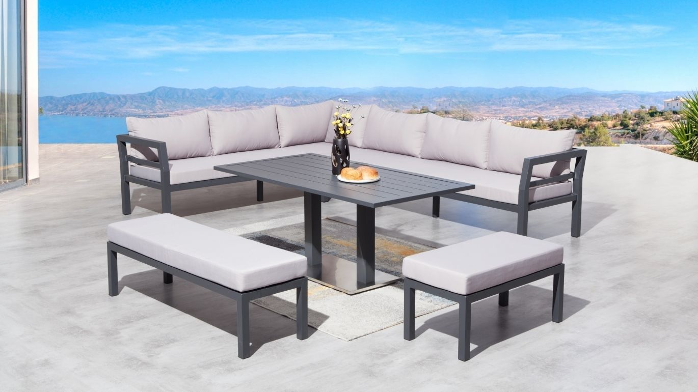 bondi outdoor loungedining combo lavita furniture - Furniture Bondi