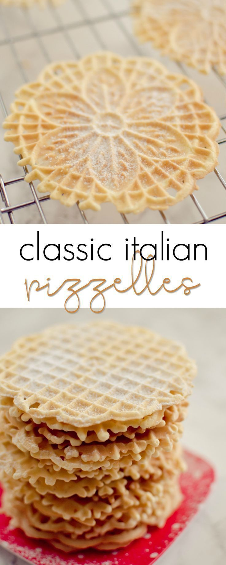 Pizzelles | Recipe | Food/drink yummy | Pinterest | Cookies, Recipes ...