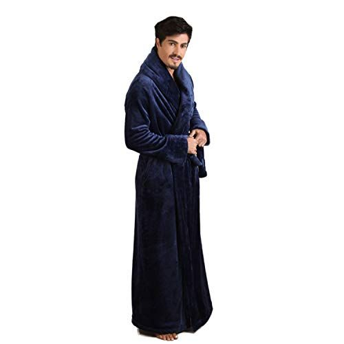 Great for 7 VEILS Women and Men Microfleece Flannel Ultra Long Floor Length  Bathrobes Mens Fashion Clothing.   39.90 - 54.90  offerdressforyou from top  ... 8b29805cc