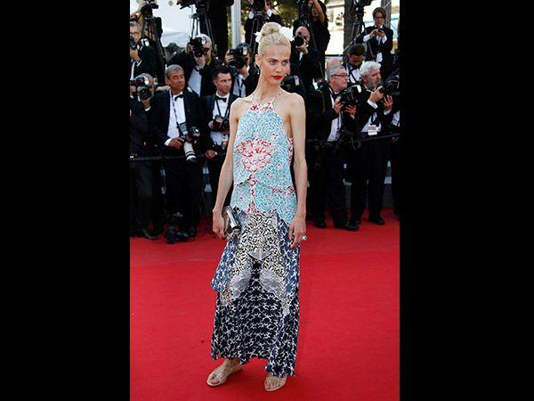 Cannes 2015 Aymeline Valade (Quelle: EPA/SEBASTIEN NOGIER)