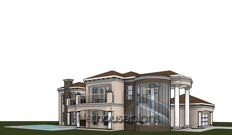 4 Bedroom House Plan South African House Designs Nethouseplans In 2020 Bedroom House Plans House Plans African House