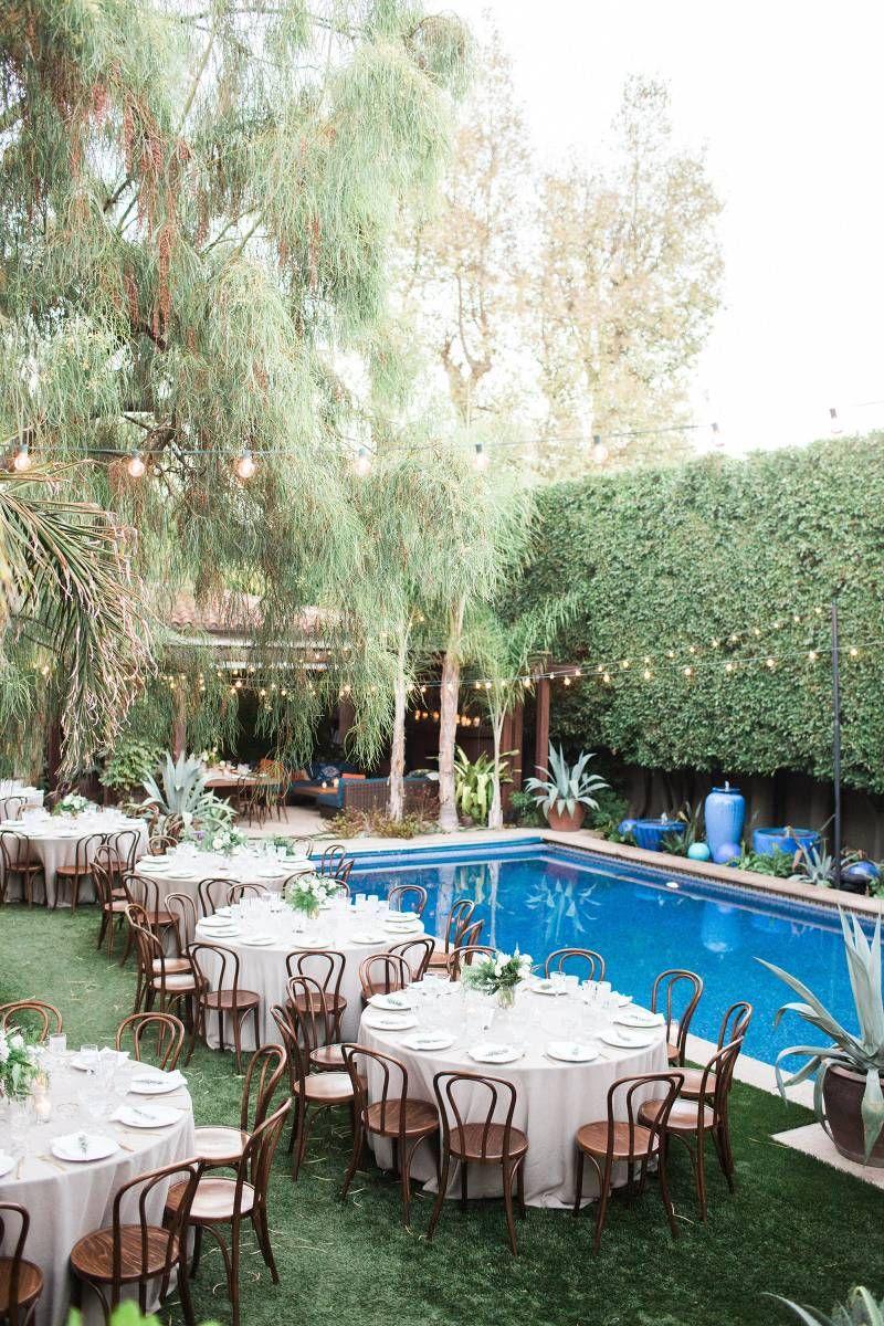 nature inspired california backyard wedding via magnolia rouge