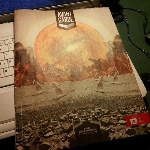 APOLLO - cover design for Avant-Garde press magazine by annie damianou, via Behance