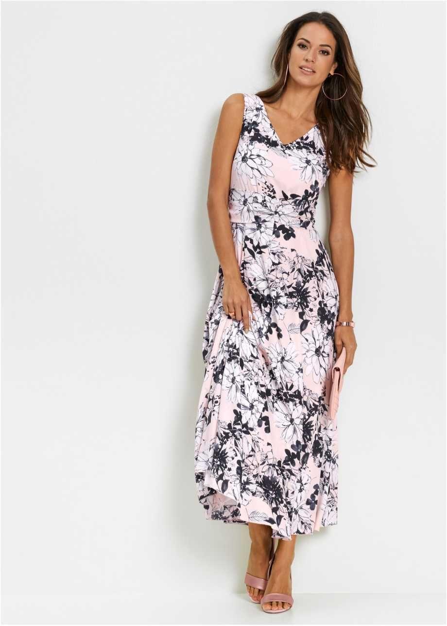 feminines maxi-kleid mit raffiniertem taillenband - zartrosa