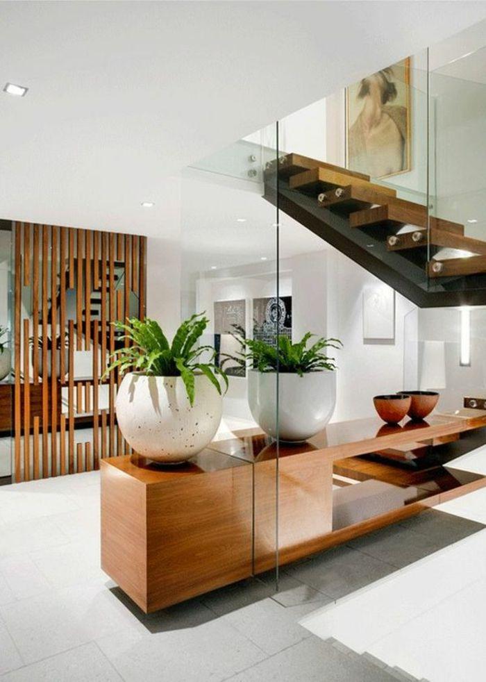 gr ne pflanzen raumtrenner aus holz interessante. Black Bedroom Furniture Sets. Home Design Ideas