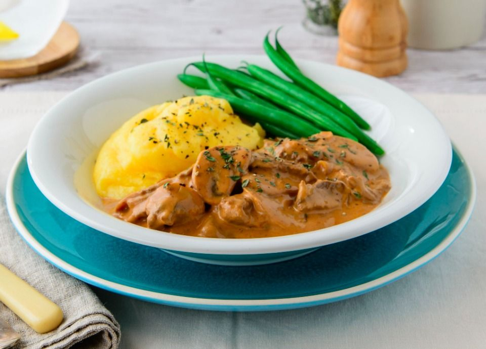 Read our delicious recipe for this Healthy Beef Stroganoff, a recipe that's all cooked in the one pot making it ideal for busy families