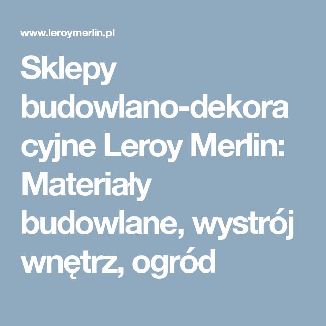 Stolek Modnie Odziany Leroy Merlin Deco Agde