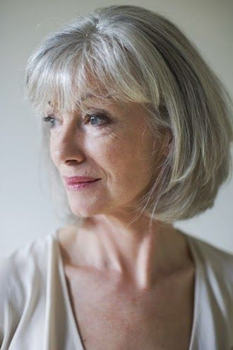 Grey Hair Dos Short Haircuts For Older Women With Thin
