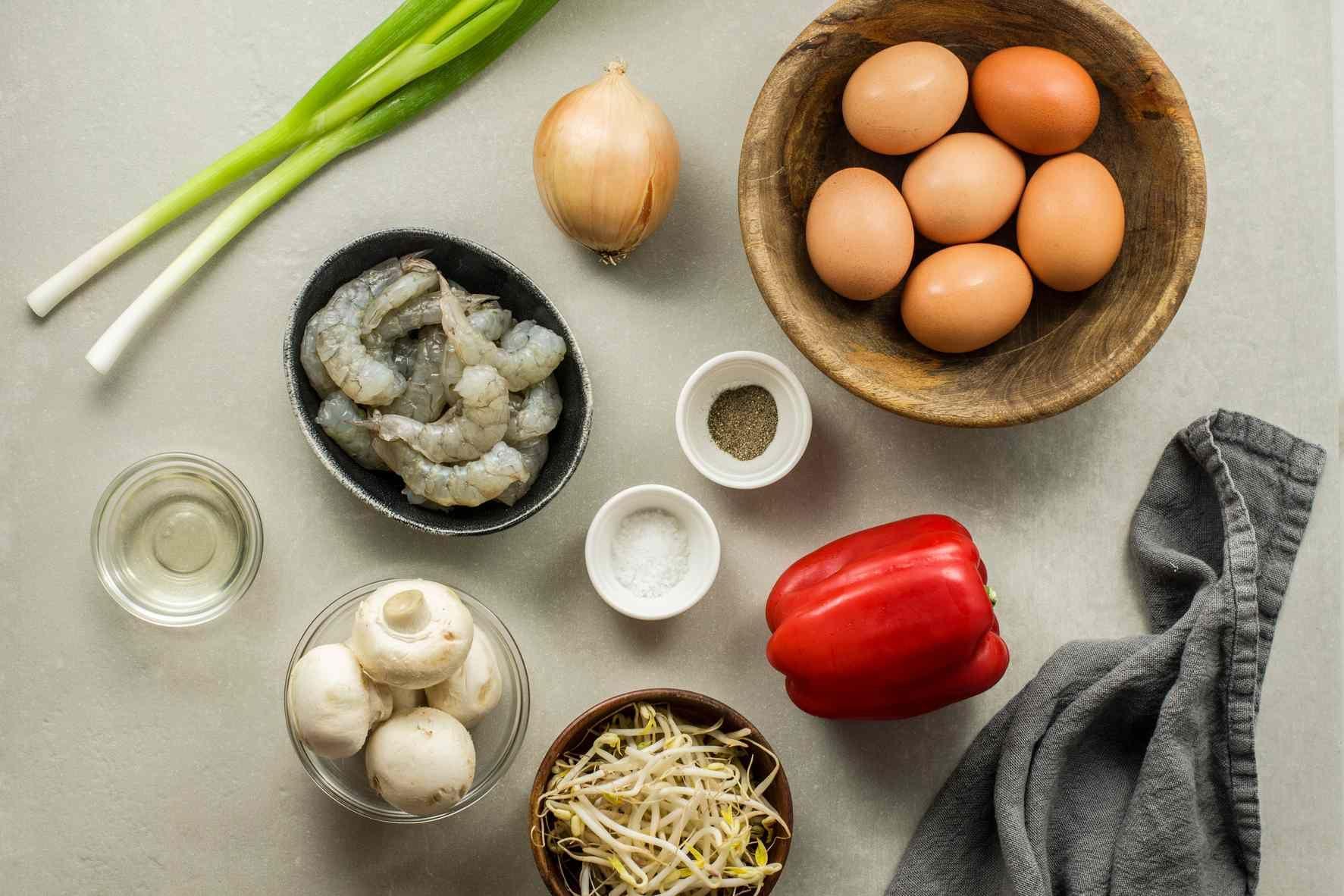 Shrimp Egg Foo Young (Egg Foo Yung) Recipe in 2020