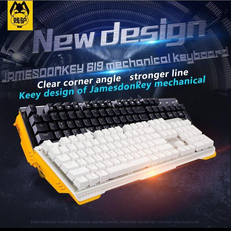 619 mechanical keyboard 104keys mx blue black brown red