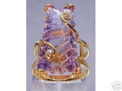 ametrine greco (too gawdy to wear, but an interesting art piece)