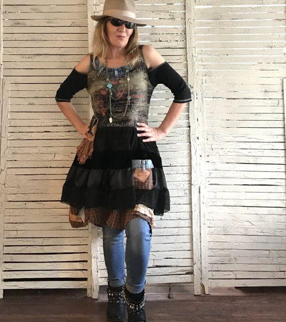 Cowgirl Parisienne M/L Prairie Chic von AnikaDesigns auf ...