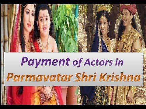 Salary of actors in Parmavatar Shri Krishna