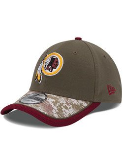 new concept 9b5bf 87fd7 Redskins New Era 39thirty Salute to Service Hat