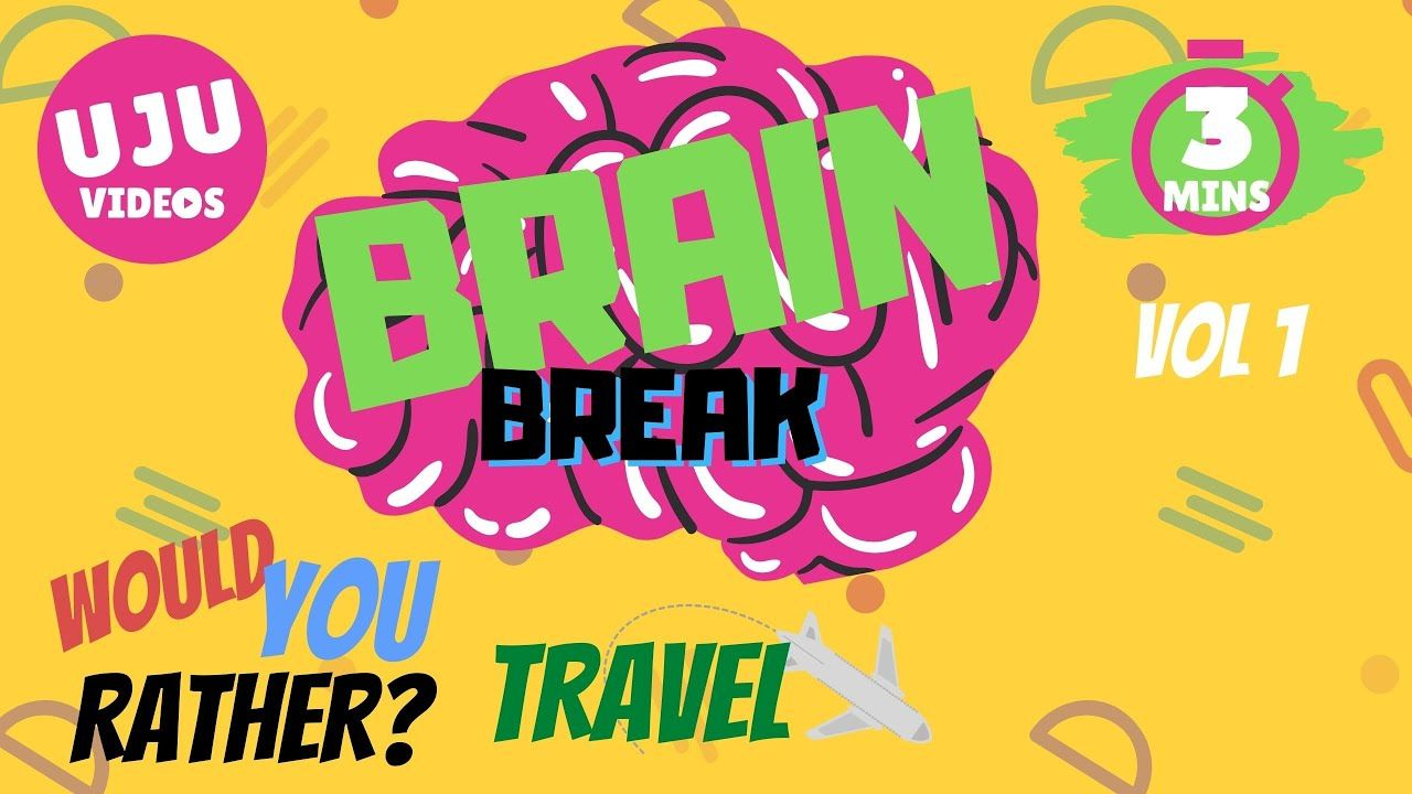 Brain Break Would You Rather? Travel Energizer Game 1