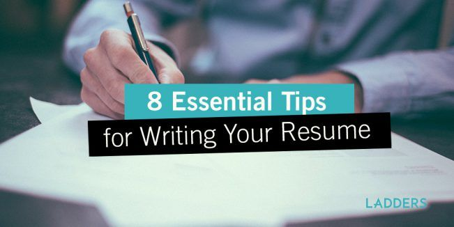 8 Essential Tips for Writing Your Resume | Pinterest | Essentials