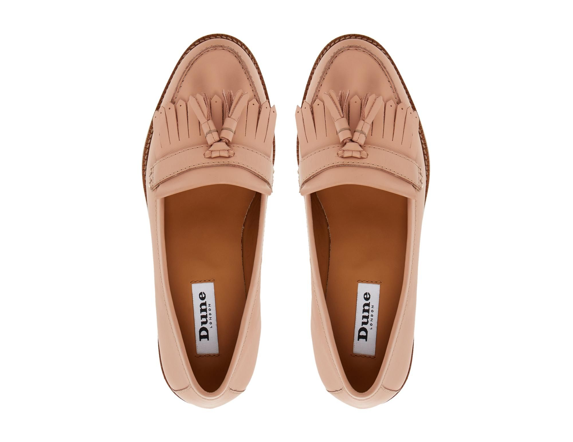 addb51f27 DUNE LADIES GOOSIE - Fringe And Tassel Trim Loafer by Dune London   dunelondon  dune