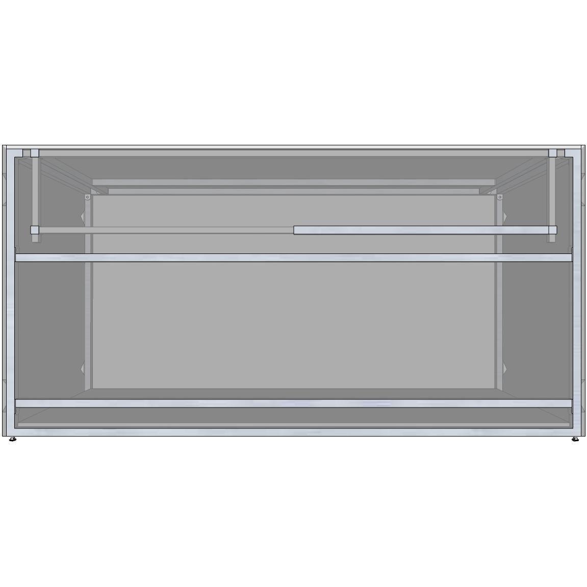 Rtf Systems Universal 72 Ready To Finish Bbq Island Appliance And Storage Cabinet Rtf72 29 Ac Outdoor Kitchen Kits Bbq Island Modular Cabinets