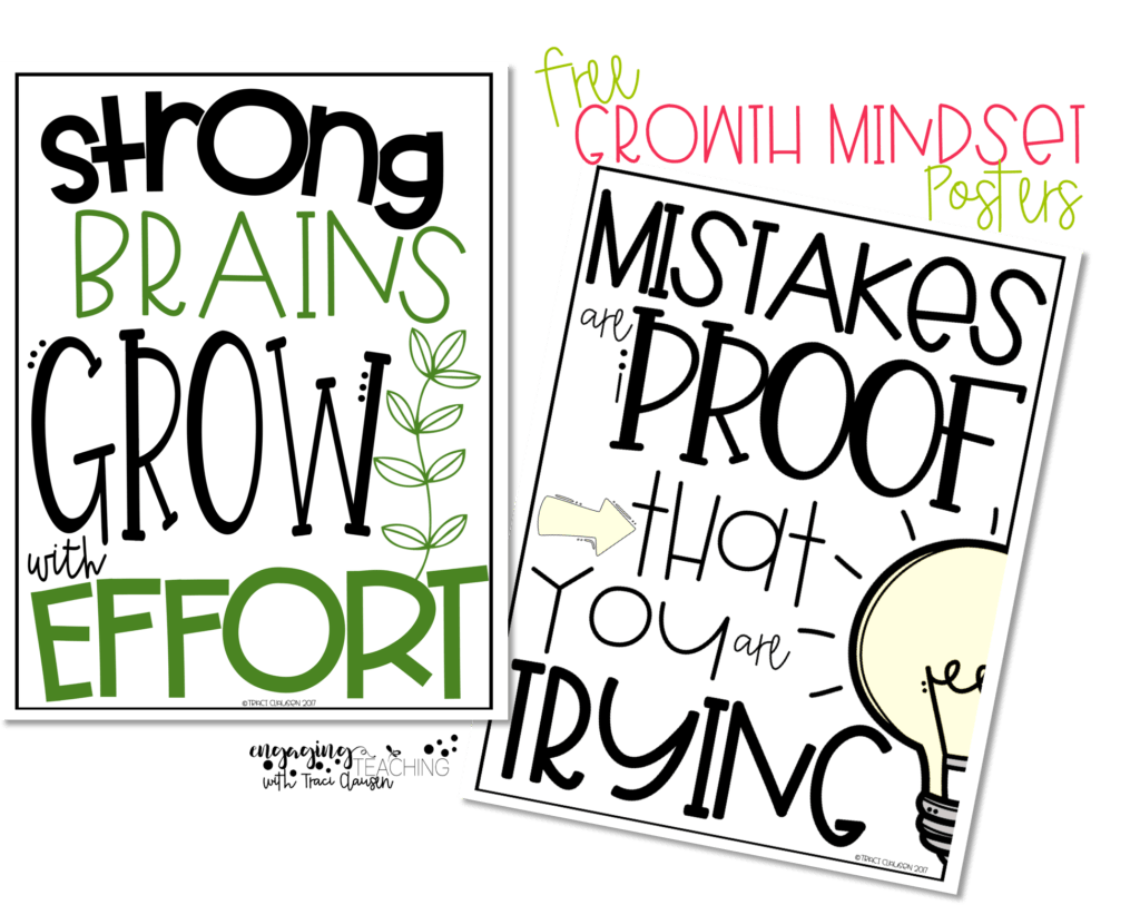 Free coloring pages growth mindset - Free Growth Mindset Posters