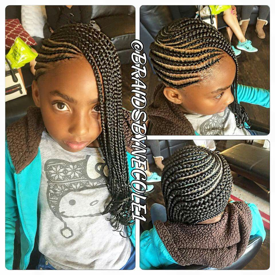Braids girls pictures hairstyles for black