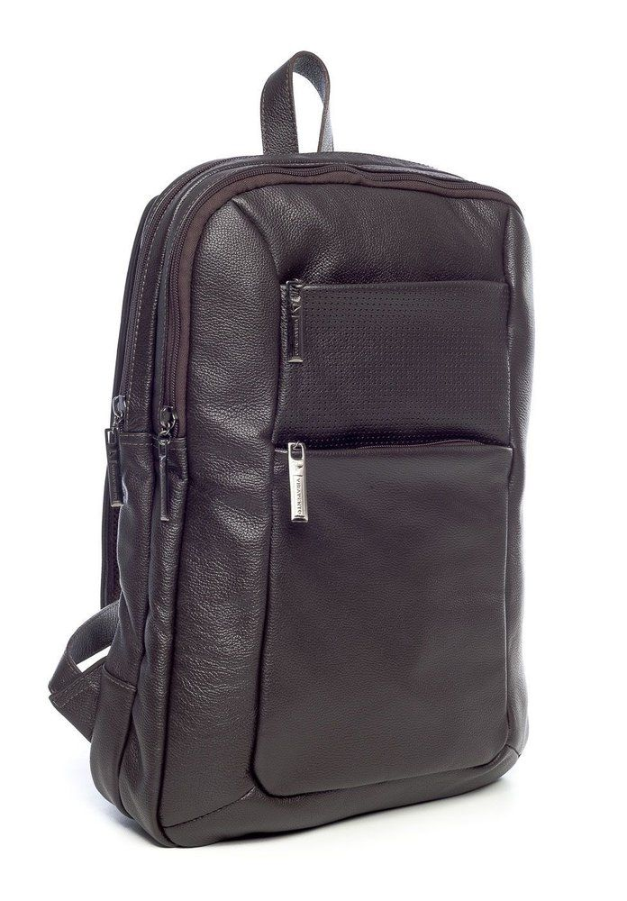 1815cf51b Mochila masculina slim em couro legítimo Vira Vento marrom - Enluaze Loja  Virtual | Bolsas, mochilas e pastas