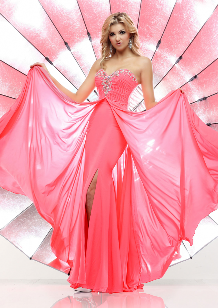 US$146.99 Wholesale A-line Sweetheart Pink Long Prom Dress /Formal ...