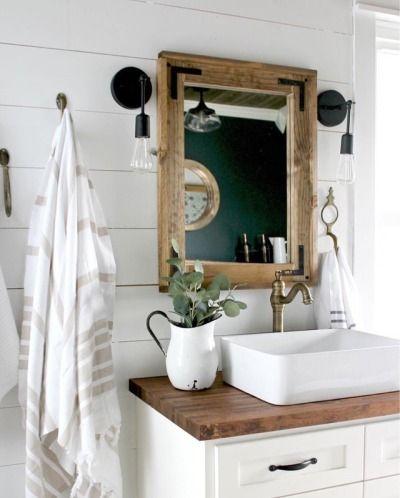 Oldfarmhouse Idea For Powder Room Sink Jalie S Farm House
