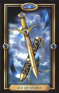 Gilded tarot deck   Phones   Ace of swords, Tarot decks, Tarot