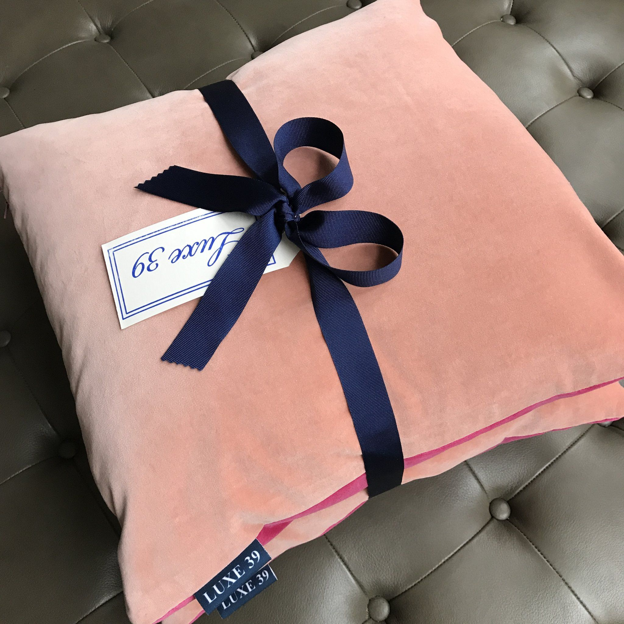 Luxury Velvet Cushions With Two Sides Blush Pink Cushion And Raspberry