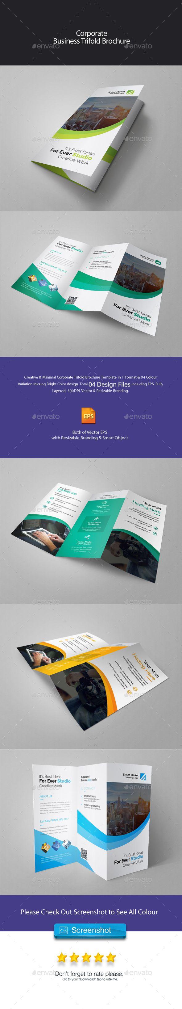 corporate trifold brochure corporate trifold brochure 11 69 8 27