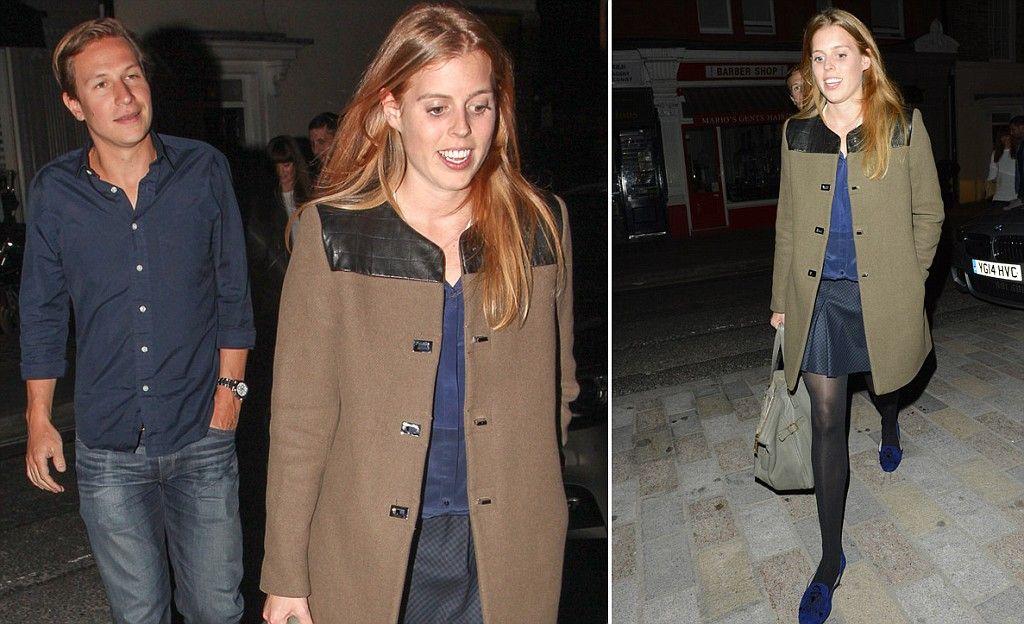Princess Beatrice enjoys date night with boyfriend Dave