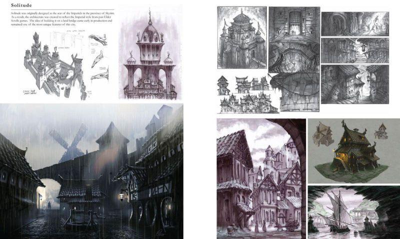 Some Concept Art From The Elder Scrolls V Skyrim Skyrim Concept Art Concept Art Concept Art World