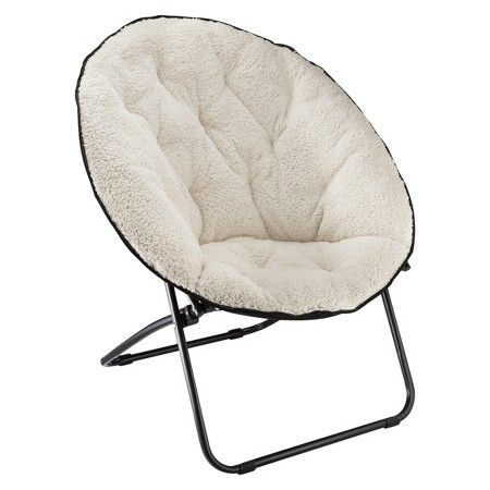 Sherpa Dish Chair Room Essentials Target Nyc Living