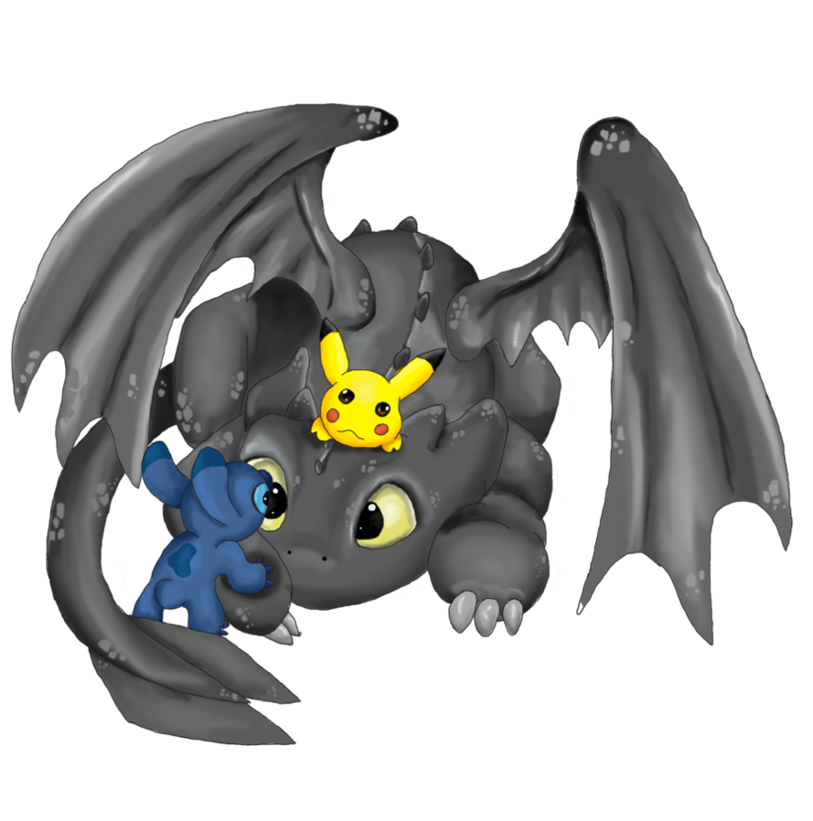 Toothless and Stitch | Toothless | Pinterest | Toothless