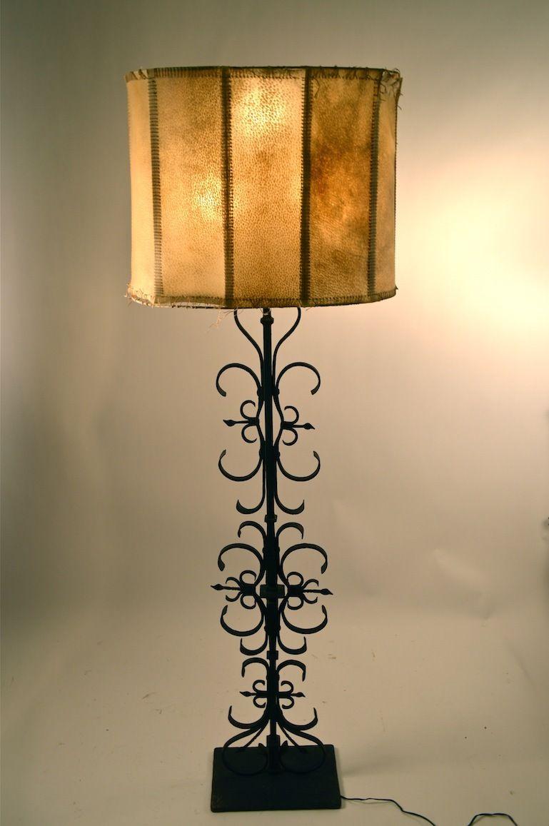 Samuel Yellin Floor Lamp Spanish Style American Gothic