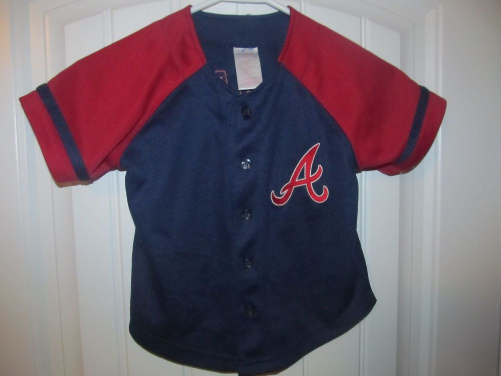 773537a50 Chipper Jones - Atlanta Braves jersey - Toddler 4T #KidAthlete # AtlantaBraves