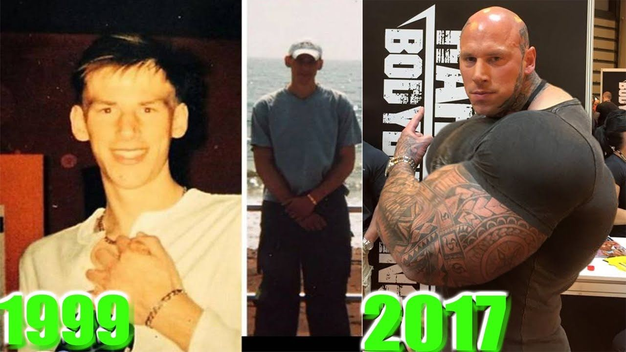 Martyn Ford Transformation Body From 17 To 35 Years Old